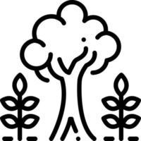 ícone de linha para maturidade vetor