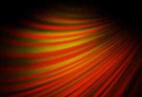 fundo laranja escuro do vetor com linhas dobradas.