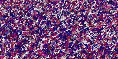 padrão de vetor rosa claro com estilo poligonal.