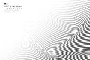 abstrato preto ondulado design trabalho artístico de fundo. vetor