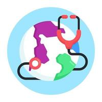dia mundial da saúde vetor
