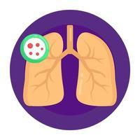 câncer de pulmão e infecção vetor