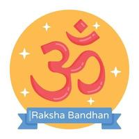banner raksha bandhan vetor