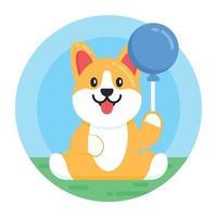 dia do cachorro e animal de estimação vetor