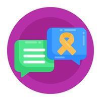 chat de prevenção de suicídio vetor