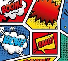 conjunto de expressões ícone de estilo pop art vetor