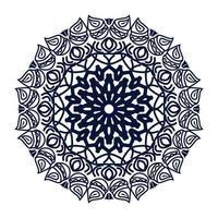 Ramadã luxo motivo ornamental fundo de desenho de mandala islâmica vetor