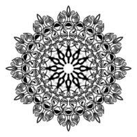 desenho de mandala islâmica do ramadã com fundo ornamental de luxo vetor