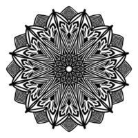 design de padrão de mandala estilo mandalamexicano para fundo islâmico vetor