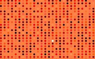 capa de vetor vermelho claro com manchas.