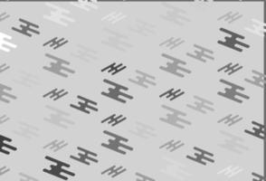 prata clara, padrão de vetor cinza com linhas estreitas.