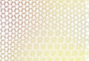 modelo de vetor amarelo, laranja claro com círculos.