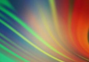 luz verde, vermelho vetor moderno bokeh padrão.