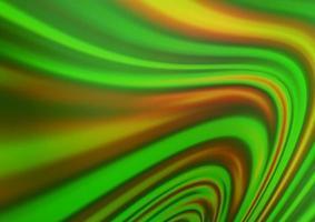 modelo de vetor verde claro com linhas ovais.