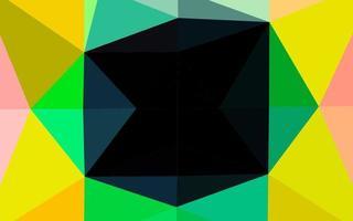 luz multicolor, fundo poligonal do vetor do arco-íris.