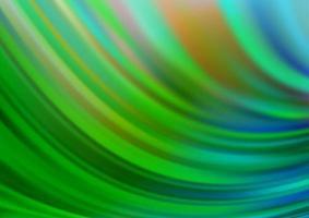 padrão de vetor verde claro com formas de lâmpada.