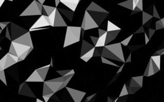 luz prata, cinza vetor brilhante fundo triangular.