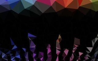 luz multicolor, arco-íris vetor polígono pano de fundo abstrato.