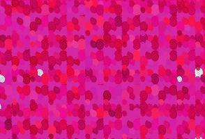 de fundo vector roxo, rosa claro com formas de bolha.