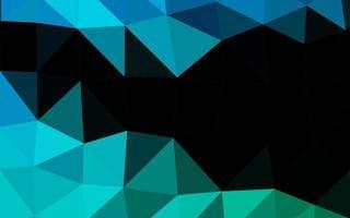 layout poligonal abstrato de vetor azul e verde claro.