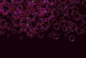 textura de vetor roxo, rosa claro com discos.