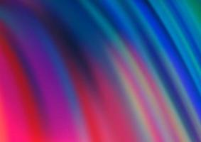 padrão de vetor azul e vermelho claro com formas de lâmpada.
