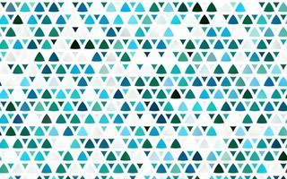luz azul, verde vetor padrão sem emenda em estilo poligonal.