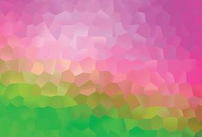 fundo vector rosa claro, verde com hexágonos.