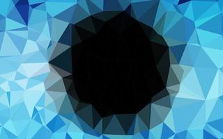 padrão em mosaico abstrato azul claro do vetor. vetor