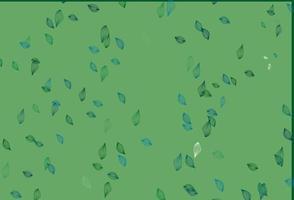fundo do esboço do vetor azul, verde claro.