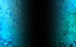 azul claro, verde padrão em mosaico abstrato do vetor. vetor
