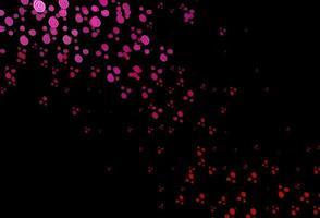 modelo de vetor roxo, rosa escuro com formas líquidas.