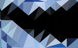 modelo poligonal de vetor azul escuro.