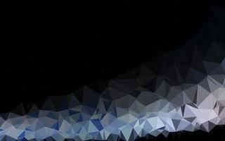 luz azul vetor brilhante padrão triangular.