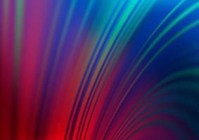 bokeh vector azul escuro, vermelho e padrão colorido.