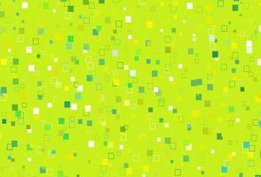 de fundo vector verde e amarelo claro com retângulos.