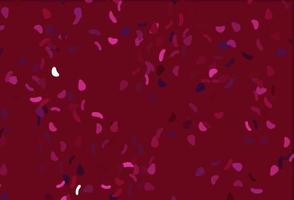 cenário de vetor rosa claro com formas abstratas.