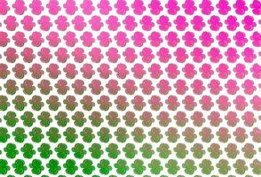 fundo vector rosa claro, verde com formas de lava.