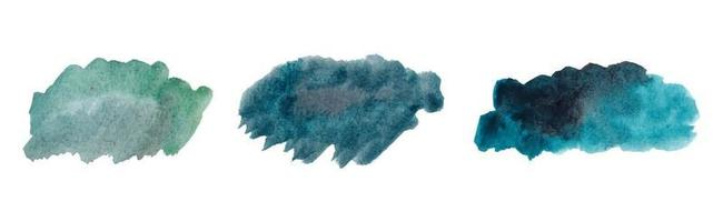 aquarela abstrata pincelada abstrata com papel áspero texturizado vetor
