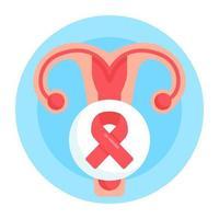 câncer cervical uterino vetor