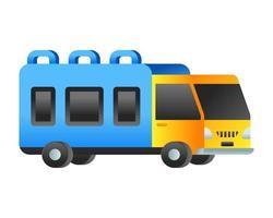 ônibus transporte público vetor