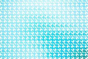 pano de fundo azul claro do vetor com linhas dobradas.