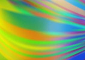 fundo abstrato brilhante do vetor azul, verde claro.