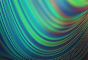 modelo de vetor azul claro e verde com formas líquidas.