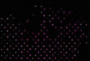 layout de vetor rosa escuro com elementos de cartões.