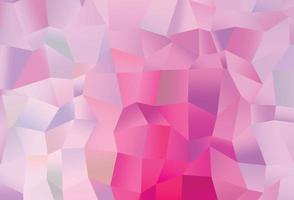padrão de vetor rosa, azul claro com cristais, retângulos.