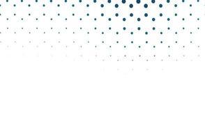 fundo azul claro do vetor com bolhas.
