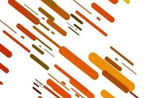 textura vector laranja claro com linhas coloridas.