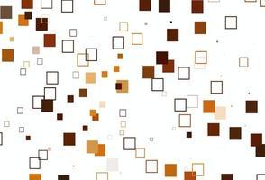 modelo de vetor laranja claro com estilo quadrado.