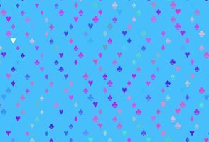fundo vector rosa claro, azul com sinais de cartões.